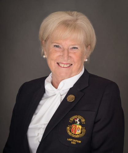 Ailish Humphreys Lady Captain Skerries Golf Club 2021