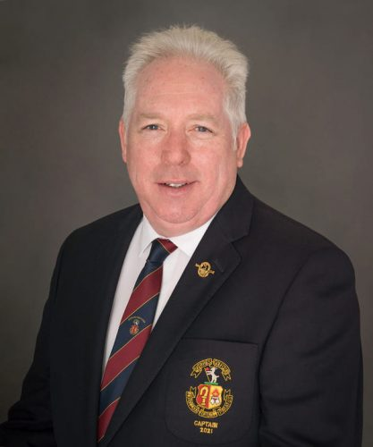 Declan Bowers Skerries Golf Club Captain 2021
