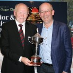 Skerries Golf Club Vice Captain Dominic Henry and The Sugar Club Sponsor John McDonnell